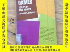 二手書博民逛書店WORD罕見GAMES FOR PLAY AND POWERY2