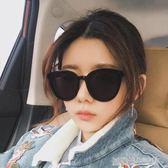 墨鏡女韓版潮gm太陽鏡圓明星網紅同款眼鏡復古街拍偏光鏡