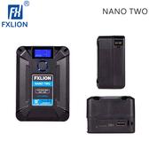 EGE 一番購】Fxlion【NANO TWO】98Wh 掌中型V掛鋰電池 多供電選擇 D-tap Type-C USB