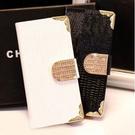 note3 三星note3手機皮套 鱷魚紋鑲鑽皮套 n9000奢華保護套(任2件$900)