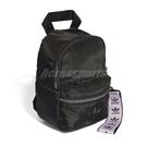 adidas 後背包 Mini Backpack 黑 紫 男女款 迷你背包 運動休閒 【ACS】 FL9616