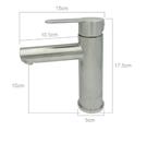 【麗室衛浴】國產精緻304白鐵 不鏽鋼面盆龍頭 LS2300