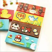 筆袋-創意樂高積木拼裝男女生卡通筆袋韓國文具盒小學生兒童鉛筆盒-奇幻樂園