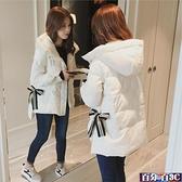 胖MM棉襖女2021年冬季新款羽絨棉服女韓版寬鬆bf港風學生棉衣短款外套 百分百
