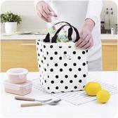 便當包手提包韓版小清新布藝女包保溫防水飯盒袋帶飯小拎包飯盒包潮