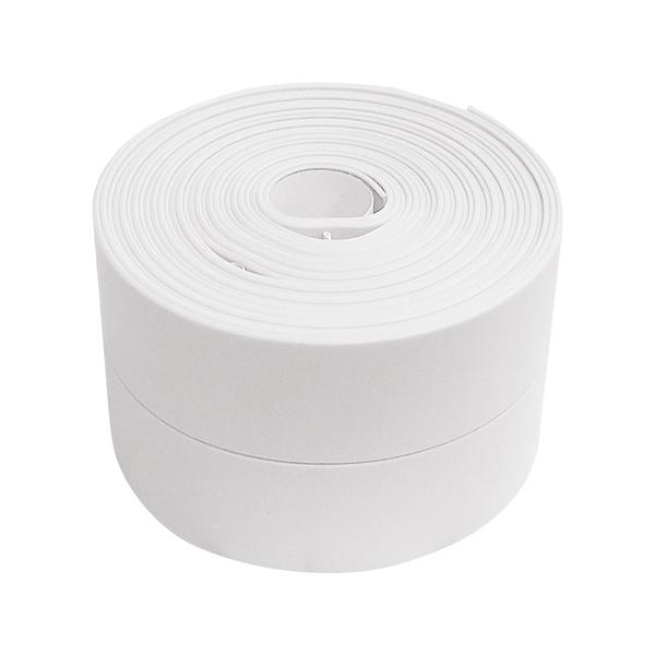 「7-11限今日299免運」3.2米長 牆角接縫防霉保護貼 防水膠帶 防撞條 廚房(寬款)【F0335】
