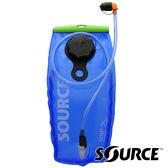【SOURCE 以色列】WXP LP 抗菌水袋 2L『藍』耐溫60℃ / 大開口+加油口 2060690202 吸管水袋