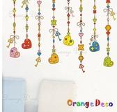 壁貼【橘果設計】吊飾 DIY組合壁貼/牆貼/壁紙/客廳臥室浴室幼稚園室內設計裝潢