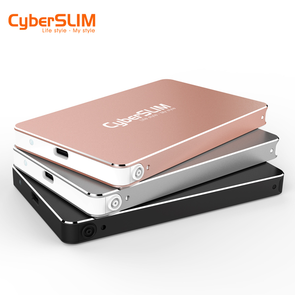CyberSLIM 2.5吋外接硬碟 SSD 2.5吋行動固態硬碟 480G Type-C USB3.1 S25U31