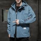 潮流外套潮牌外衣 男外套工裝機能韓版外套 秋季休閒日系夾克外套 時尚男生外套 男士外套簡約
