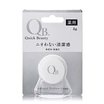 素晴館 日本 白金級QB零體味7天持久體香膏(6g/個)