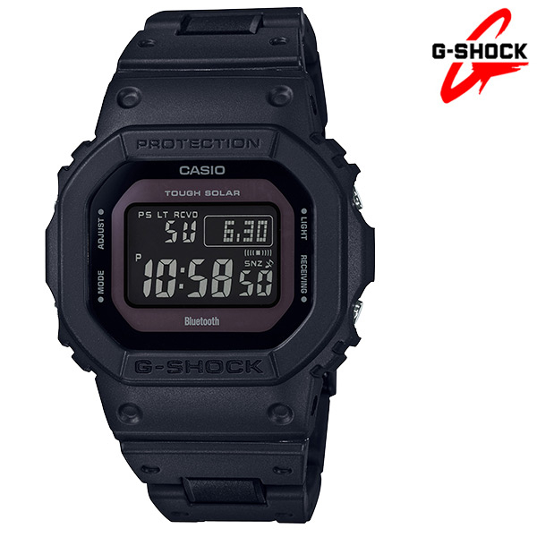 CASIO 卡西歐 藍牙連線 電波錶 世界時間 鬧鈴 G-SHOCK 電子錶 男錶 GW-B5600BC-1B