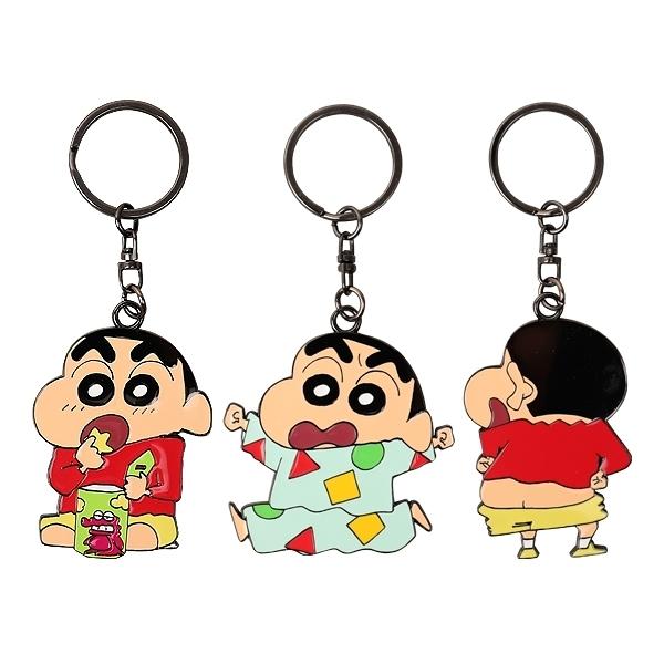 蠟筆小新 金屬鑰匙圈(1入) 款式可選【小三美日】