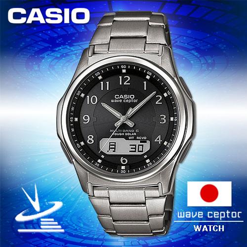 CASIO卡西歐 手錶專賣店 男錶 G-SHOCK  WVA-M630TDE-1AJF 電波錶 男錶日系 數字黑面 太陽能 不鏽鋼錶帶