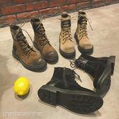 馬丁靴 馬丁靴女新款秋季英倫風學生棉鞋韓版百搭ins短筒網紅短靴冬 維科特3c