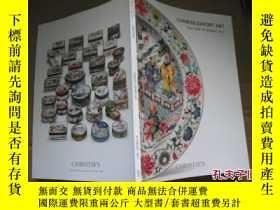 二手書博民逛書店CHRISTE`S罕見CHINESE EXPORT ART 20