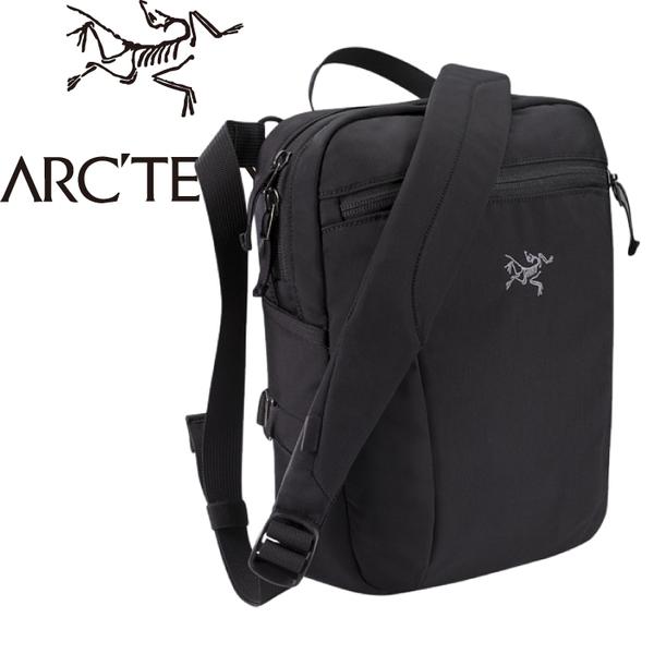 【ARC TERYX 始祖鳥 Slingblade 4L 多功能斜背包《黑》】17173/側肩包/側背包/肩背包★滿額送