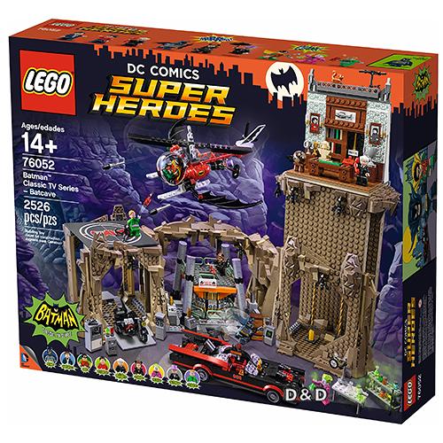 樂高積木LEGO《 LT76052 》SUPER HEROES 超級英雄系列 - 蝙蝠俠 : TV版蝙蝠洞 / JOYBUS玩具百貨