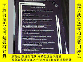 二手書博民逛書店COMMUNICATION罕見QUARTERLY Volume