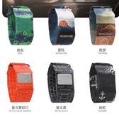 紙質防水黑科技智慧手錶新型創意手錶 男學生女情侶撕不爛新概念 樂活生活館