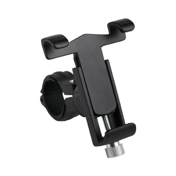 自行車/機車兩用鋁合金360°手機支架 機車導航架 摩托車後視鏡手機架 機車手機架 機車架