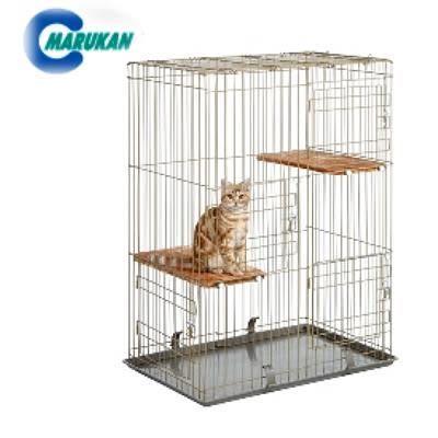 【培菓幸福寵物專營店】 MARUKAN》ct-200貓籠(三開門式)