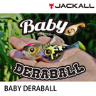 漁拓釣具 JACKALL BABY DERABALL [路亞硬餌]