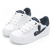 PLAYBOY 經典不敗 增高兔兔小白鞋-白藍(Y6706)