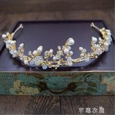 兒童演出頭飾韓國女童舞臺發飾女孩鋼琴錶演頭箍花童公主皇冠      芊惠衣屋