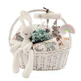 滿月禮盒 初生嬰兒純棉內衣服禮盒新生兒玩具男寶寶用品套裝滿月禮物 魔法空間