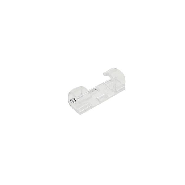 固線器 理線夾【AH-297】透明水晶色 固線夾 固線座 固定網路線電源線電話線手機充電線 理線槽