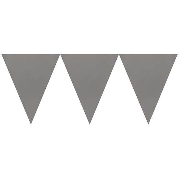 三角旗-典雅銀