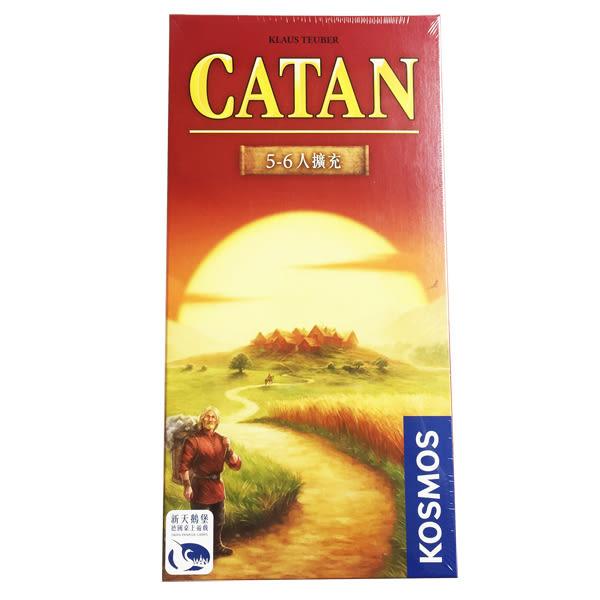 卡坦島基本版 5-6人擴充版 中文版 新天鵝堡德國桌上遊戲 (音樂影片購)