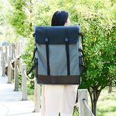 畫包4K素描畫板袋 雙肩背多功能防水帆布畫板包 正韓美術寫生畫袋