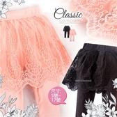 夢幻公主-布蕾緹花織網蕾絲內搭褲裙-2色(300227)【水娃娃時尚童裝】