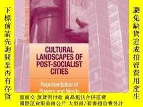 二手書博民逛書店Cultural罕見Landscapes Of Post-socialist CitiesY255562 Ma