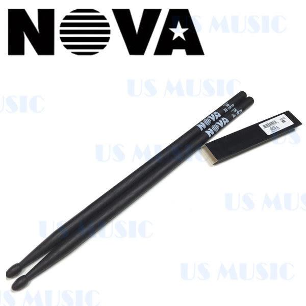 【非凡樂器】NOVA 爵士鼓棒 5B / 黑色 Vic Firth副廠