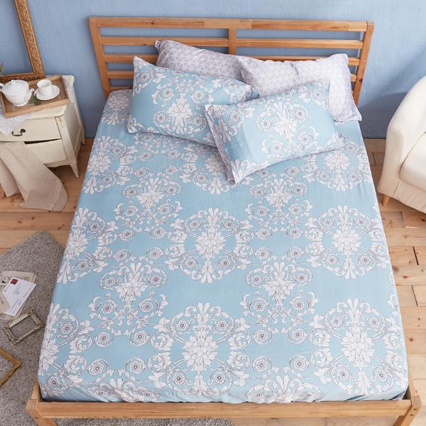 床包 / 雙人【法雅朵】含兩件枕套  100%天絲  戀家小舖台灣製
