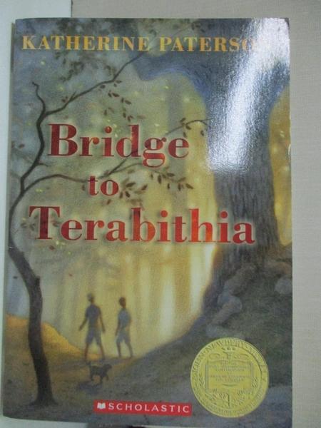 【書寶二手書T8/原文小說_GIZ】Bridge To Terabithia_Katherine Paterson