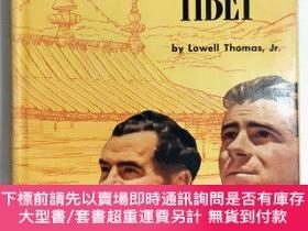 二手書博民逛書店1950年初版、書衣、好品《穿越喜馬拉雅到西藏》Out罕見of this World: Across the Hi