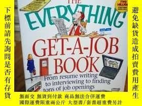 二手書博民逛書店The罕見Everything Get-A-Job Book 所