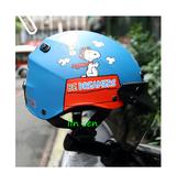 史奴比安全帽,雪帽,K825,史#5/消光藍,附抗UV-PC安全鏡片