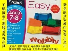 二手書博民逛書店English罕見Made Easy Ages 7-8 Key Stage 2 Carol Vorderman