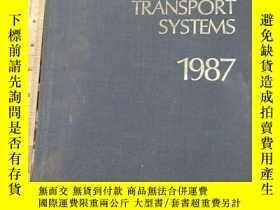 二手書博民逛書店JANE S罕見URBAN TRANSPORT SYSTEMS.1987Y11418 JANE S JANE