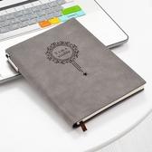 帶插筆工作會議記錄本a5手帳本簡約大學生日記本 週年慶降價