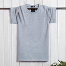 春夏季新版純色短袖T恤加肥加大男 寬鬆韓版棉質半袖潮男