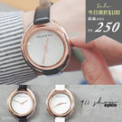 Planet.REBIRTH品牌。簡約無印鏤空環細帶皮革錶帶手錶【tc231】*911 SHOP*