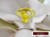 9999純金 黃金金飾 黃金戒指 雙幸運草  幸運滿分  戒指