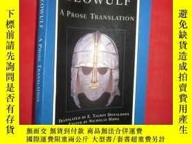 全新書博民逛書店Beowulf:A Prose Translation: Bac