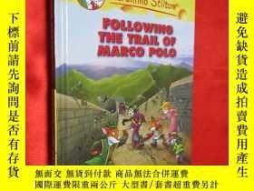 二手書博民逛書店Following罕見the Trail of Marco Po